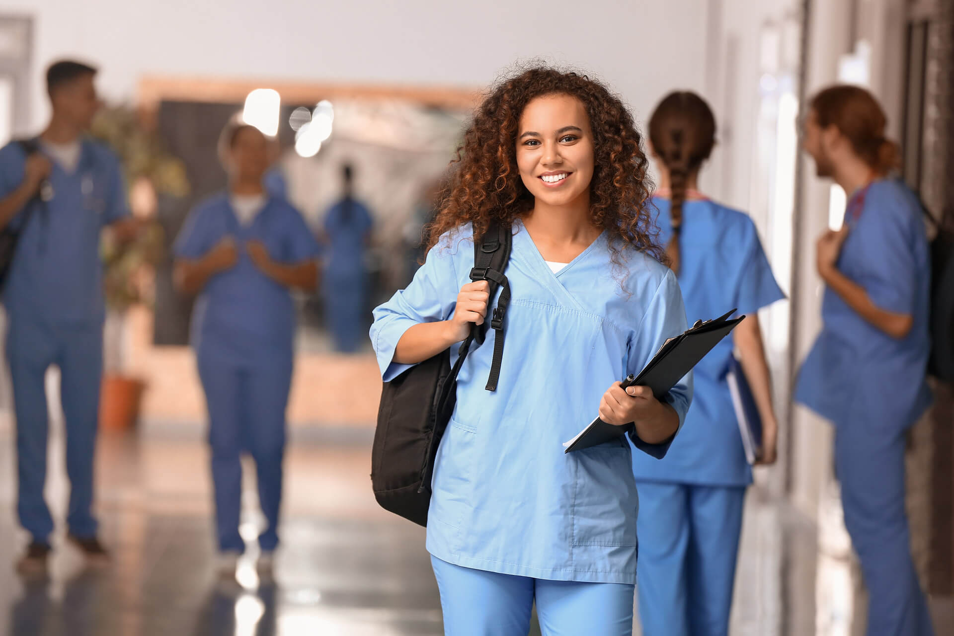 Kelvyn Park Allied Health Student