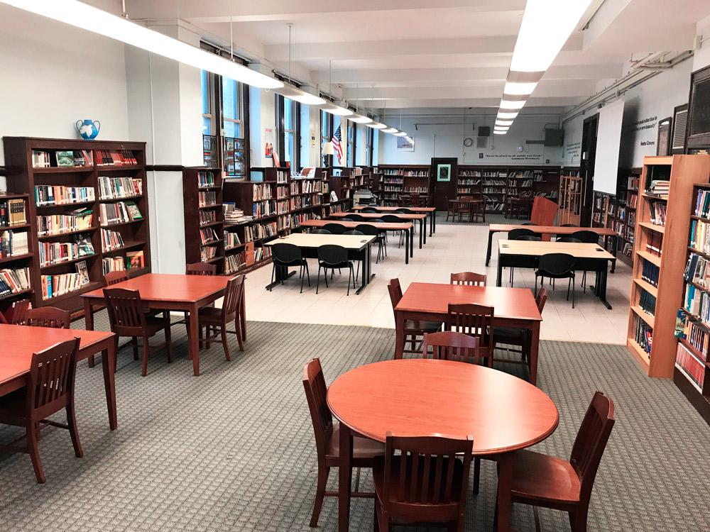 kelvyn park renovated library