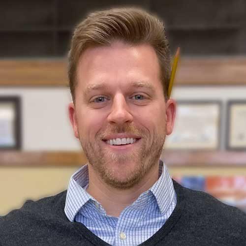 Kelvyn Park principal Keith Adams